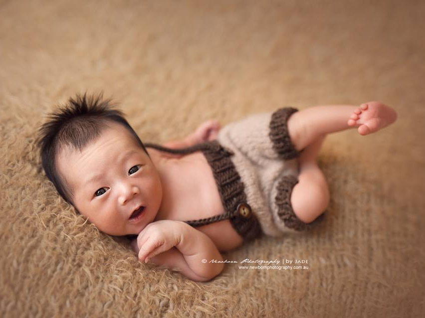 Newborn photography baby by jade