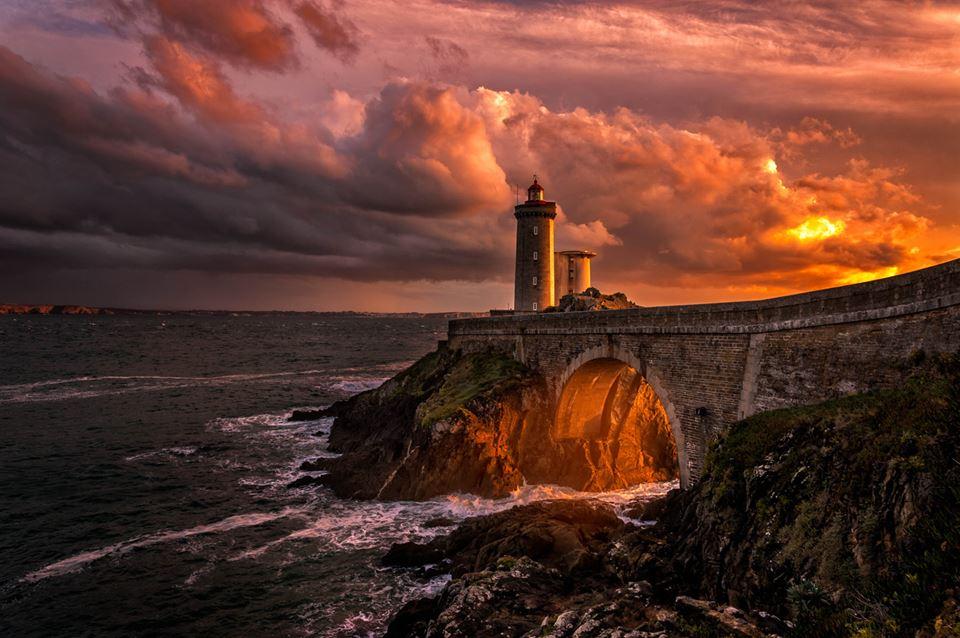 sunset photography lighthouse