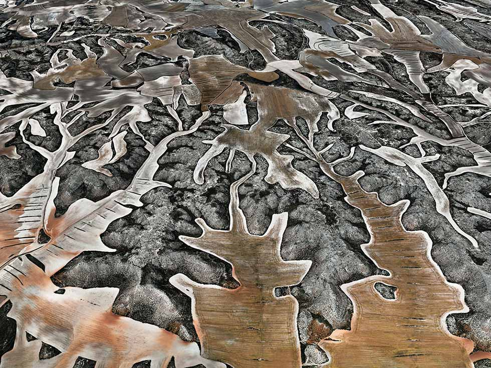 aerial photography by edward burtynsky -  1