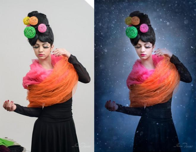 1 photo retouching