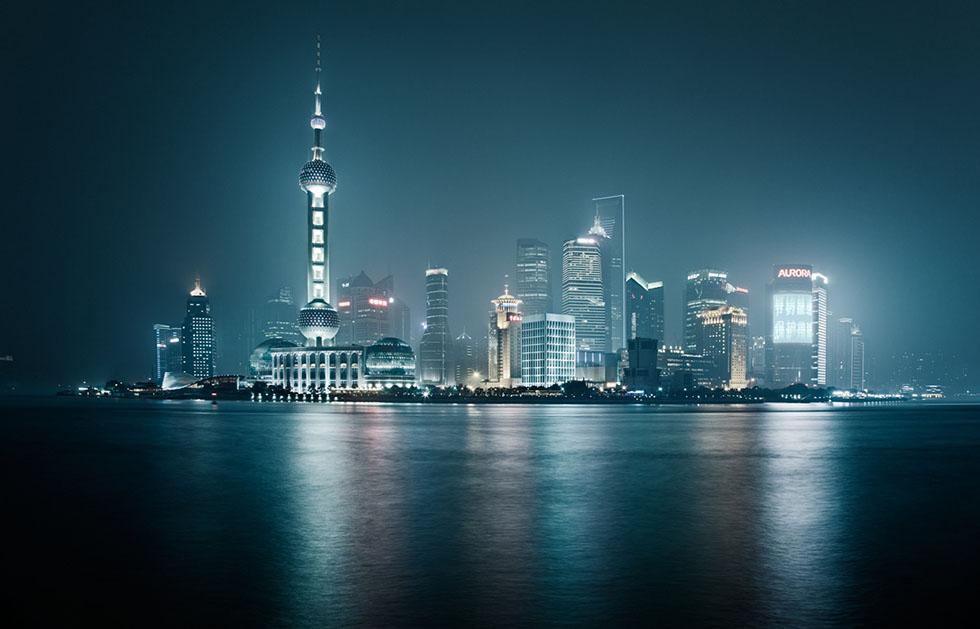 shanghai night photography