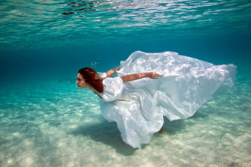 girl underwater photography -  14