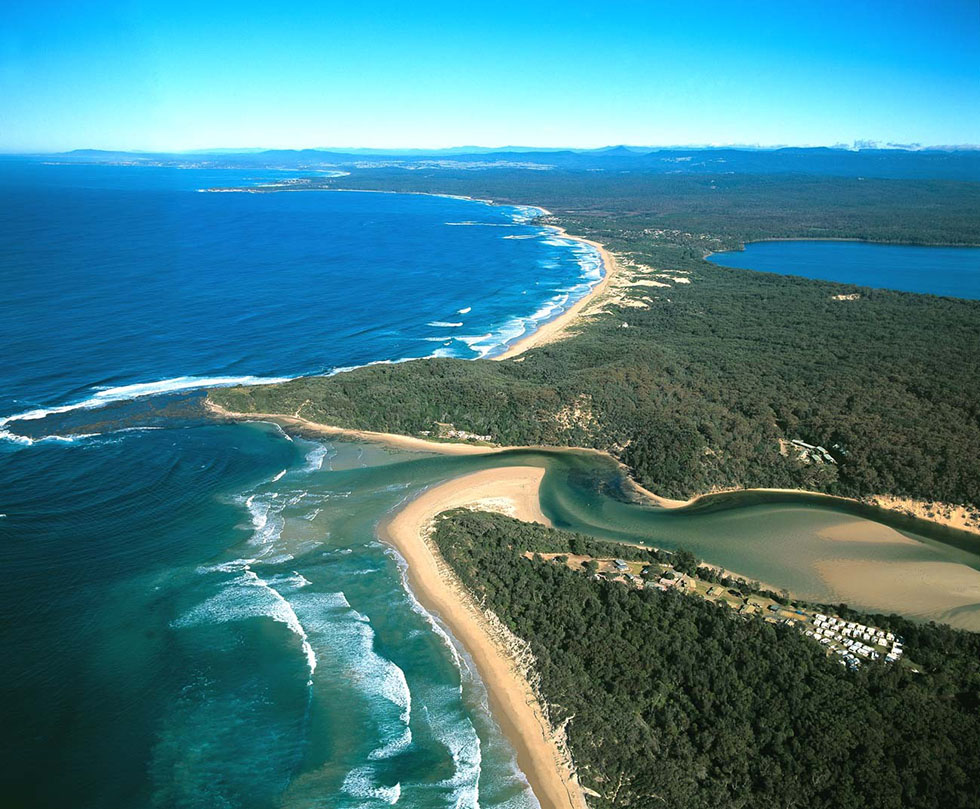 18 jervis bay aerial photography