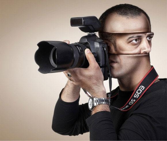 2 creative advertising photography
