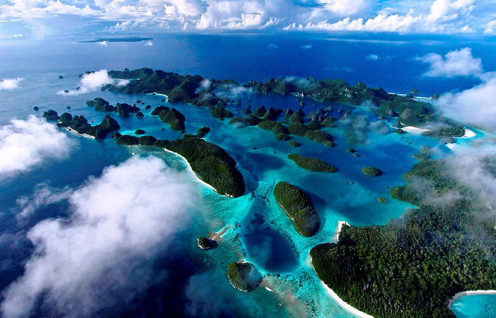 raja ampat aerial photography -  22