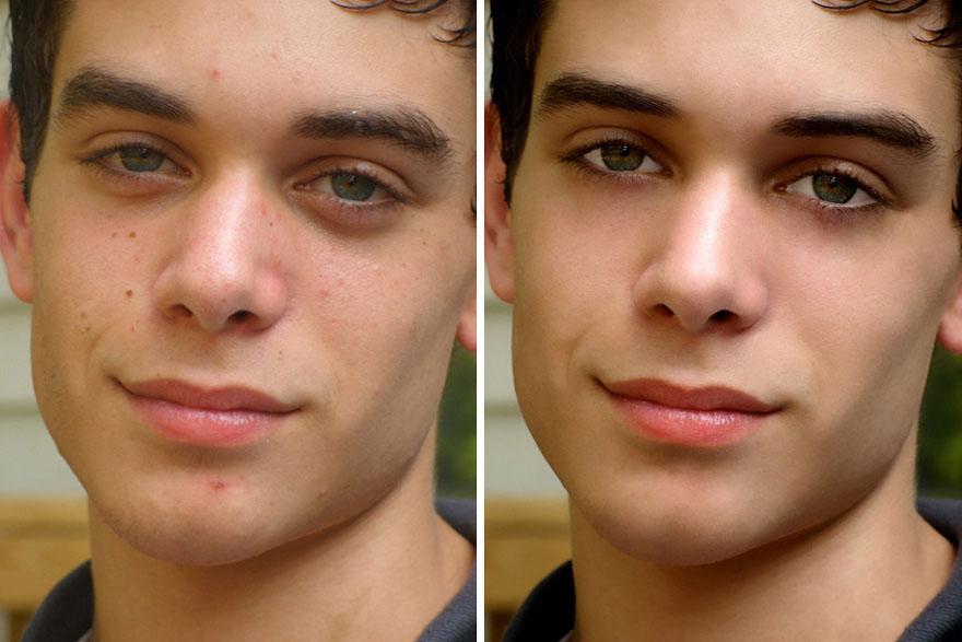 man photo retouching -  24