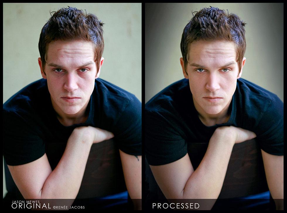 man photo retouching -  25