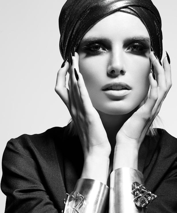 Fashion black white photography 3