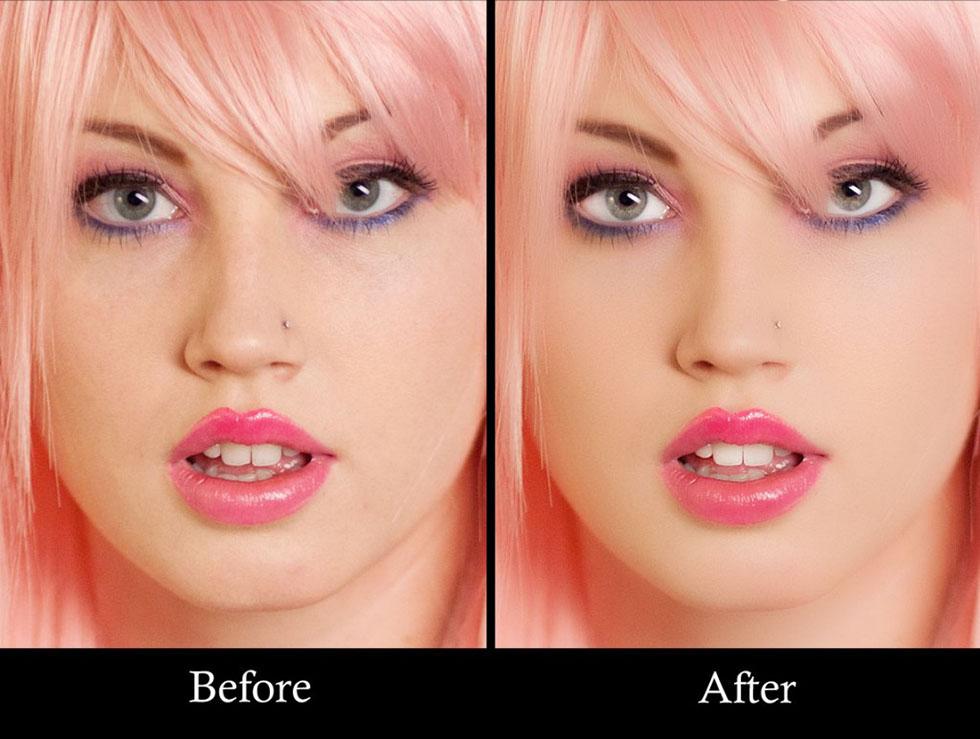 girl photo retouching -  6