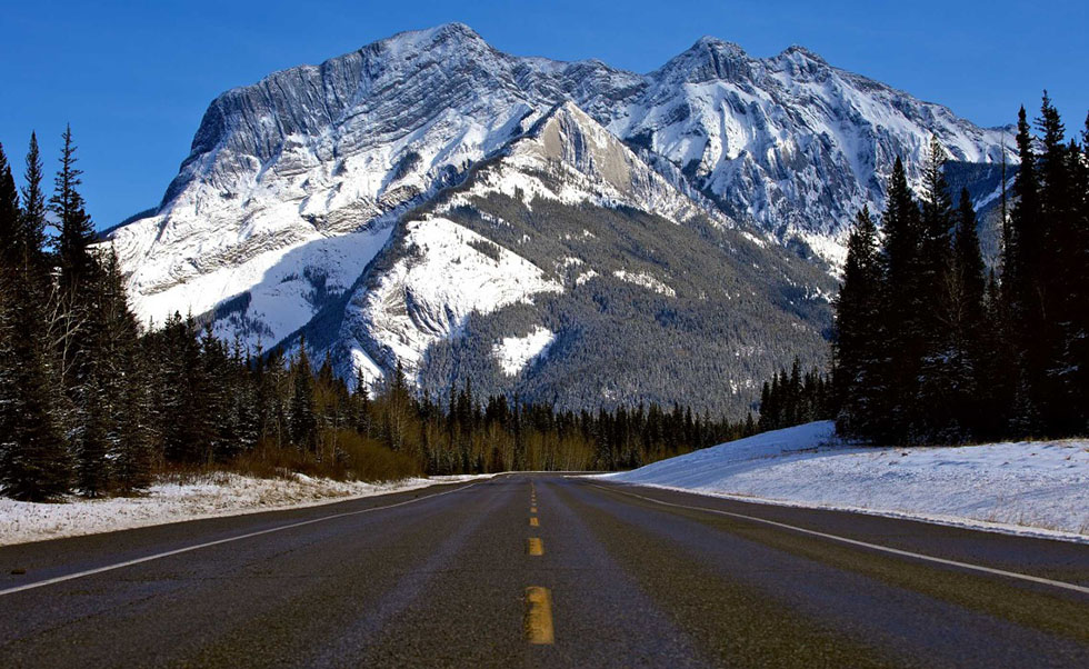 highway mountain photography