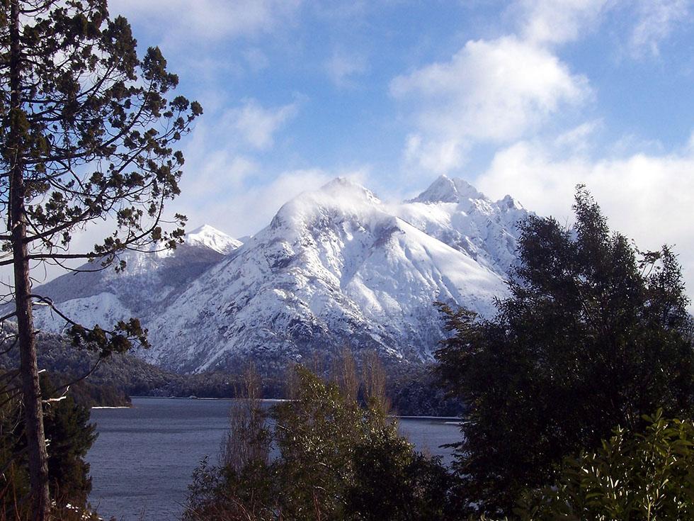 snowy mountain photography