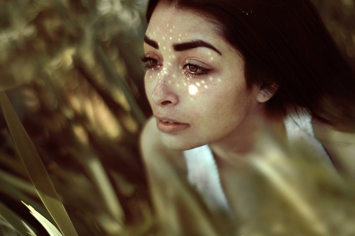 beautiful girl photography by caamila