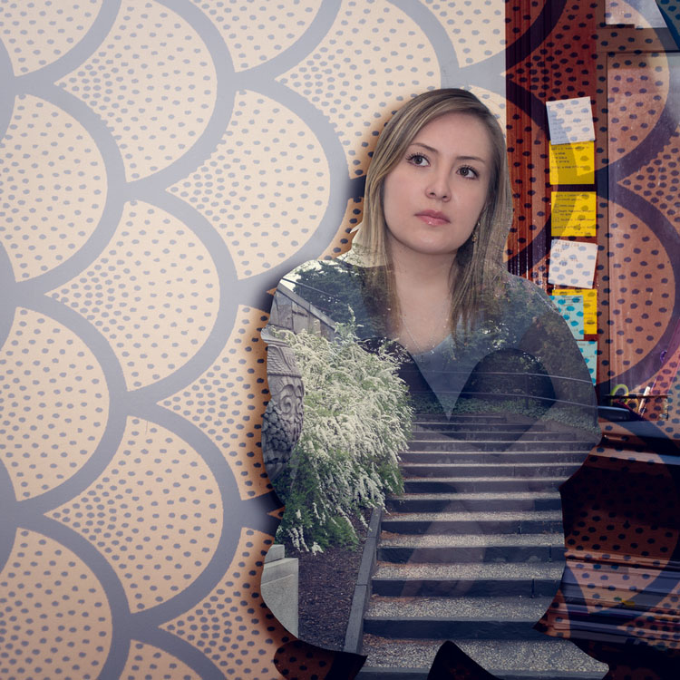 double exposure photo manipulation girl bilo hussein