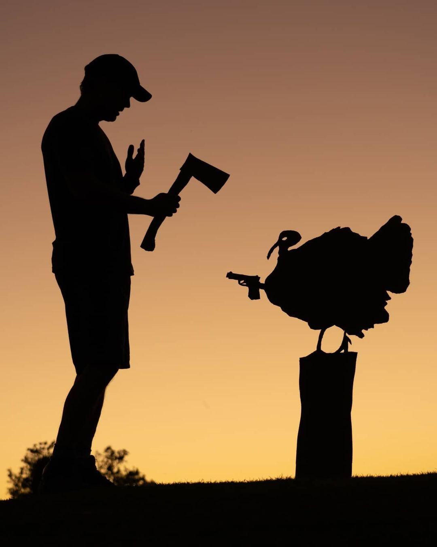 cutout silhouette photography bird by john marshall