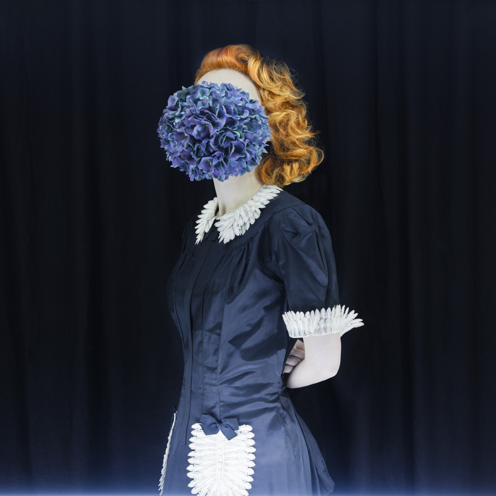 surreal fashion photography flower maid by madame peripetie