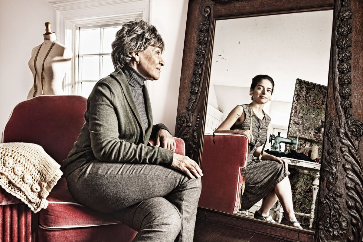 lifestyle photography reflections seamstress by tom hussey