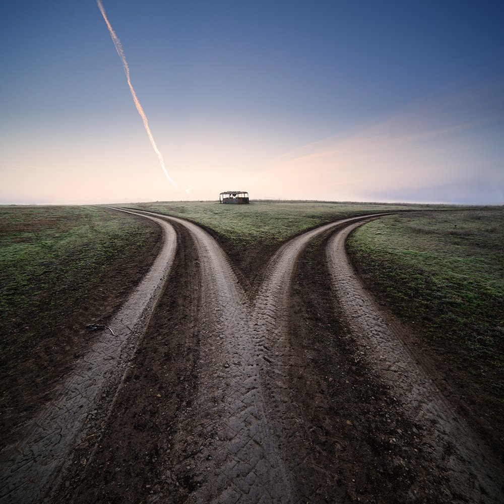 photography landscape twisted paths by denis bodrov
