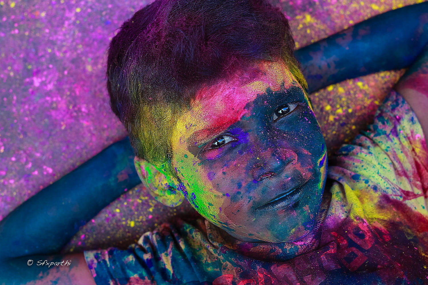 lifestyle photography colorful boy by sfx parthi