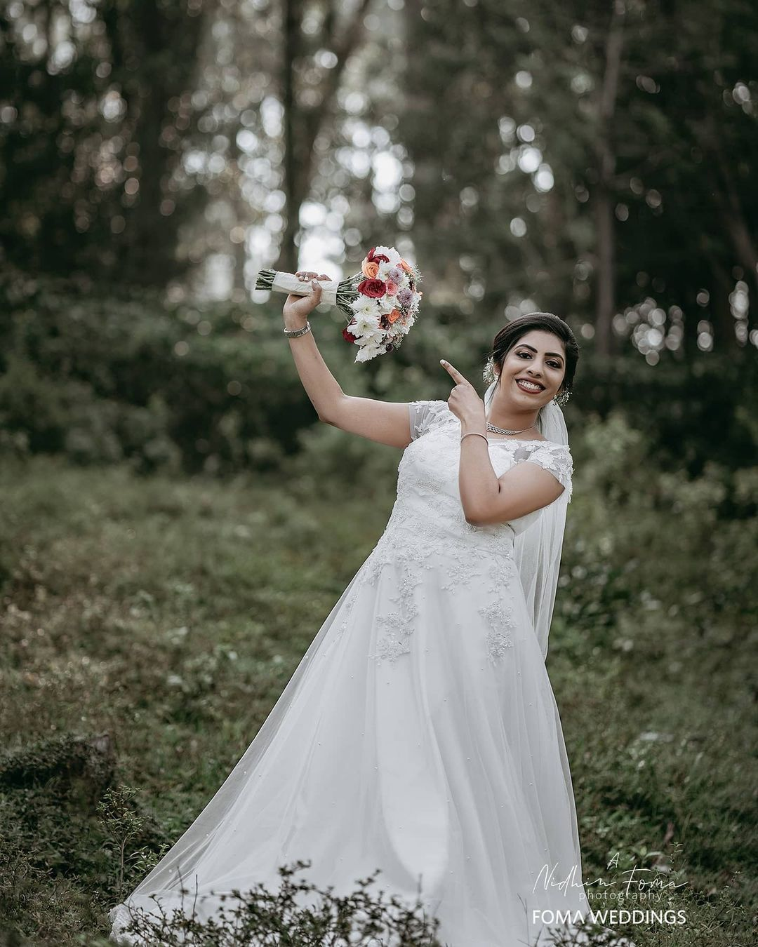 1 wedding photography bride by nidhin foma