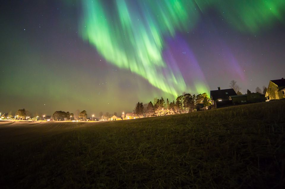 northern light nauture photography by terje nilssen