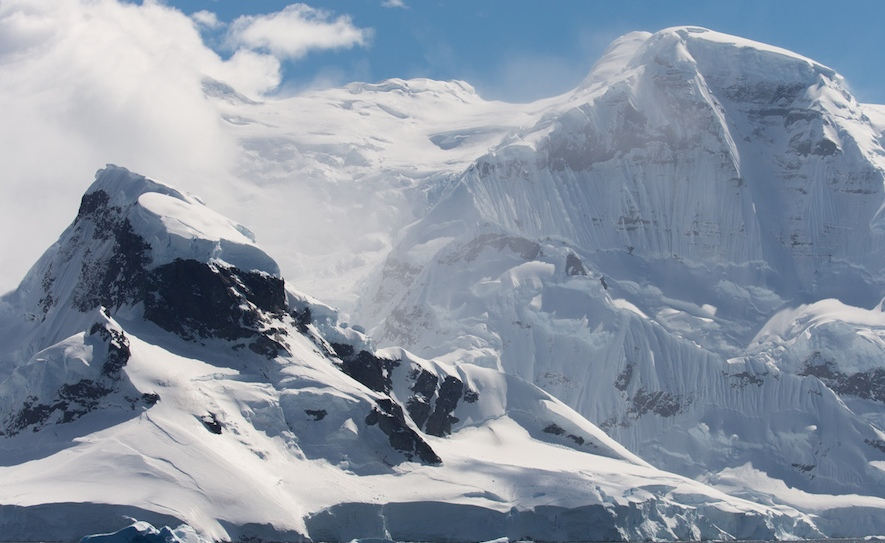 antarctica ice mountain photography by alex cornell