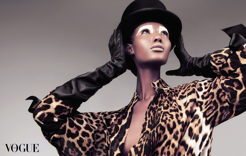 fashion photography leopard by andreas stavrinides