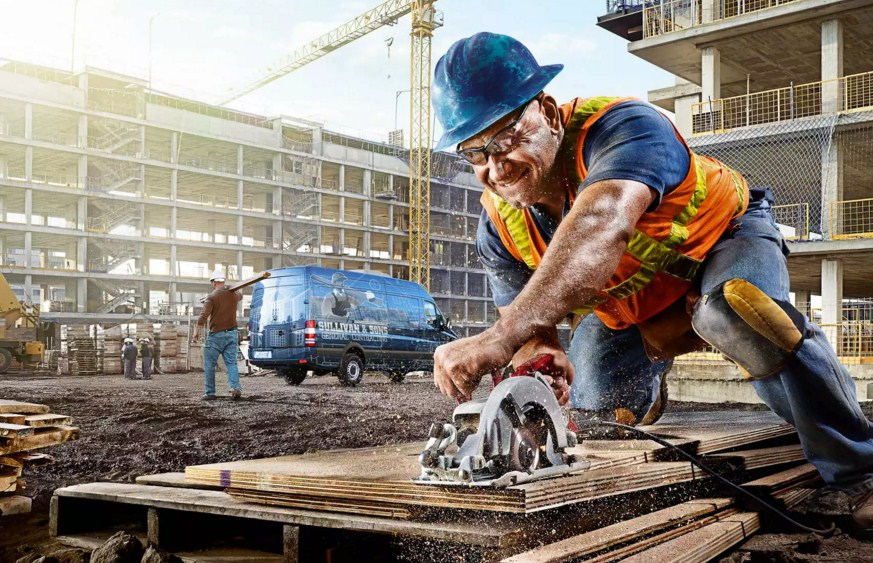 work site portrait photography by tim tadder