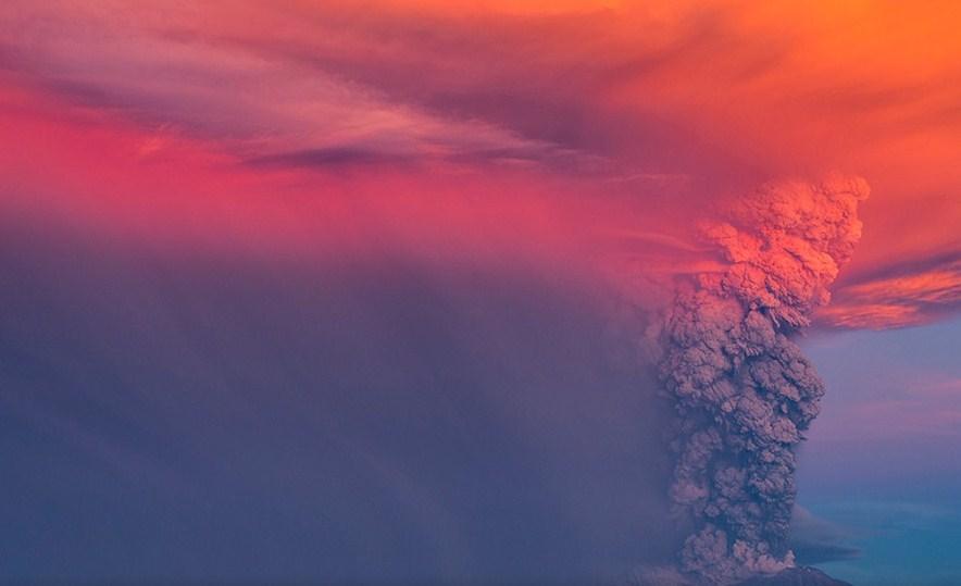 tornado volcano photography by francisco negroni