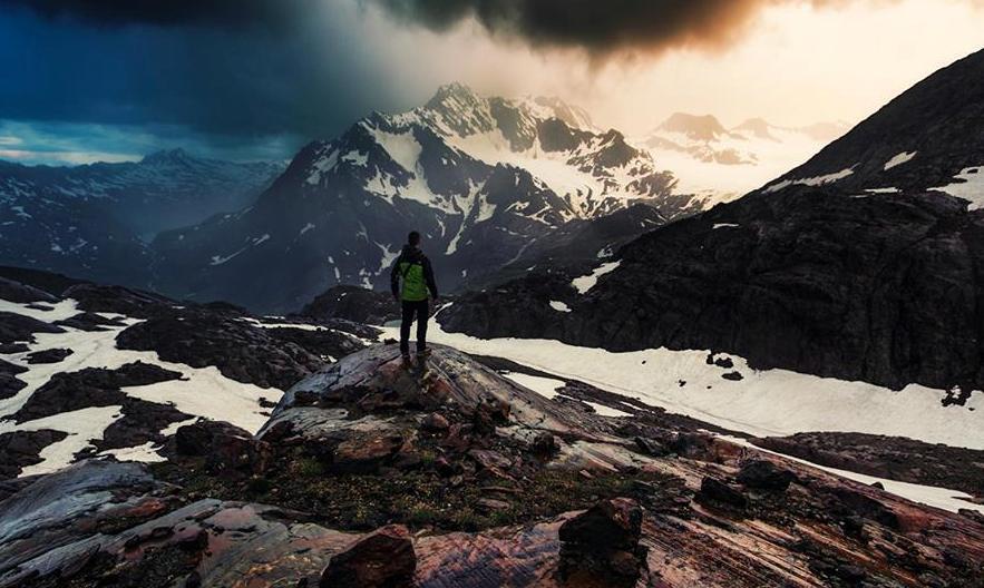 snow mountain photography by lukas furlan
