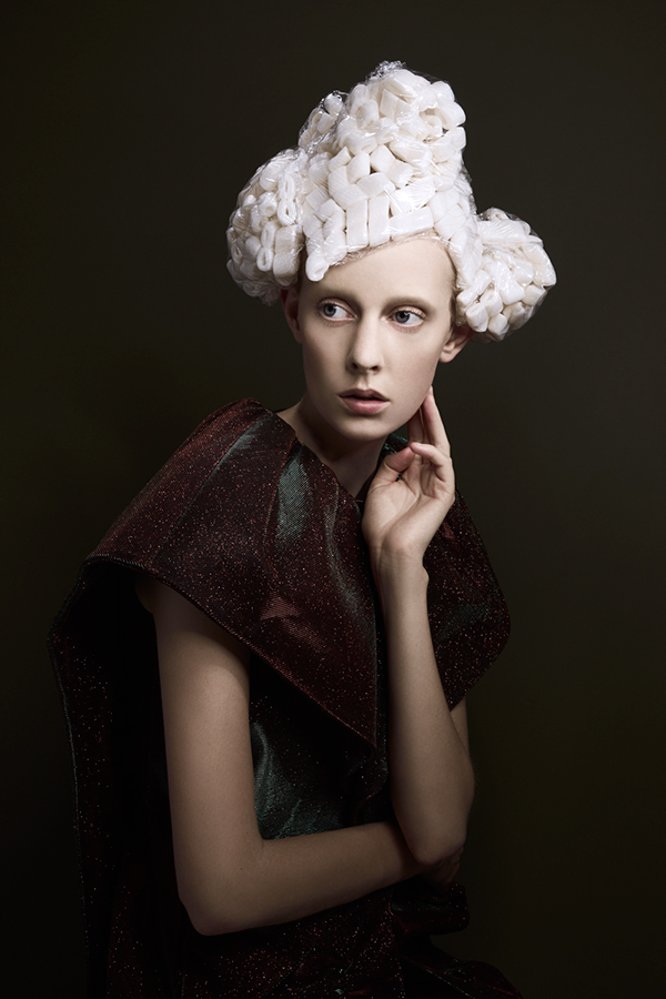 fashion photography cotton hair by pauline darley