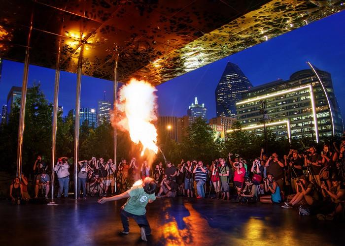 fire man photograph by trey ratcliff
