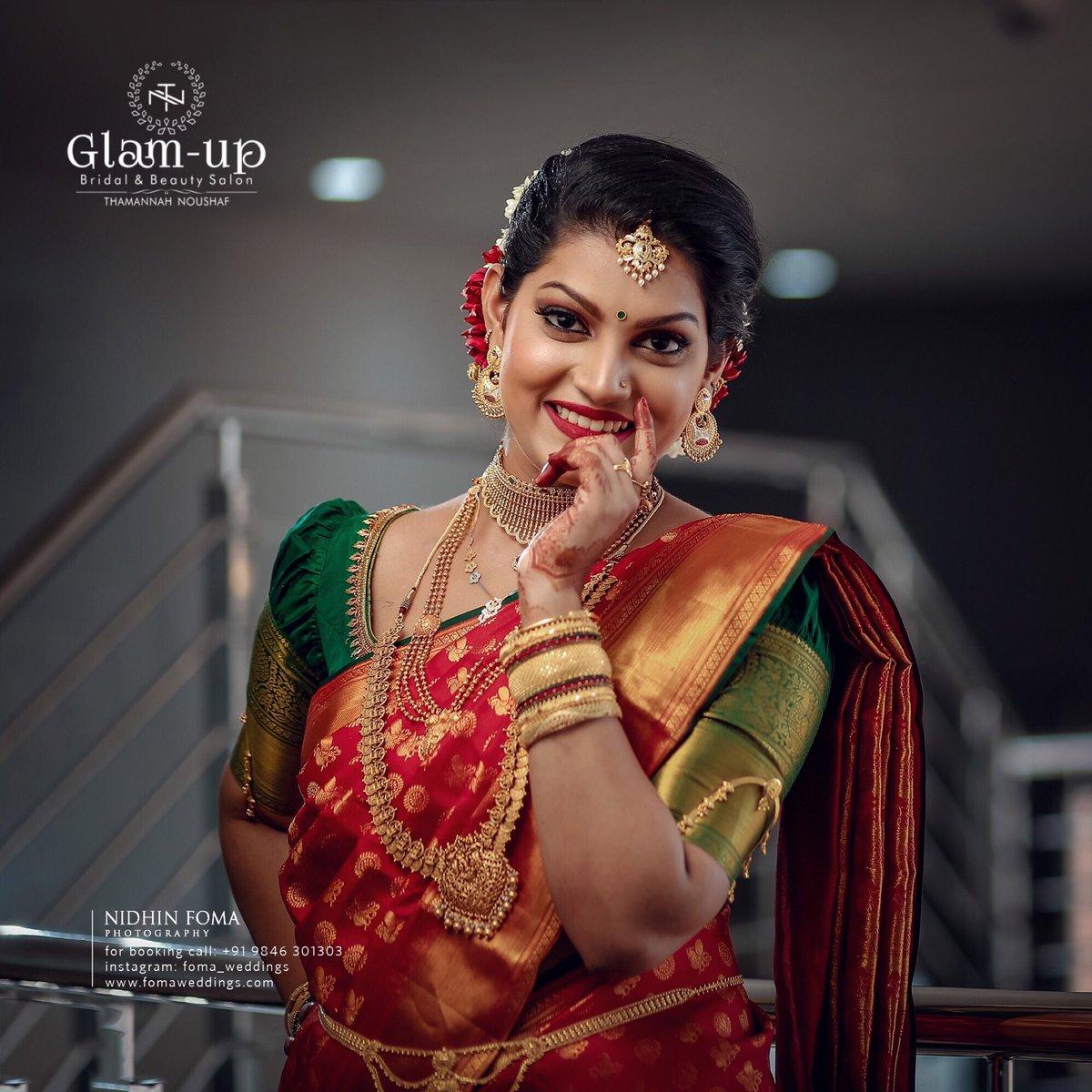 wedding photography pretty bride by nidhin foma