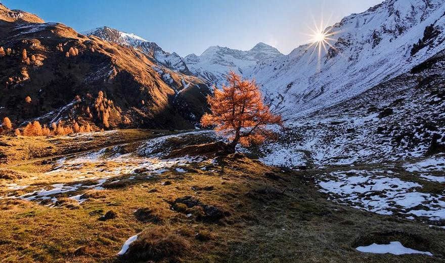 sunset landscape photography by lukas furlan