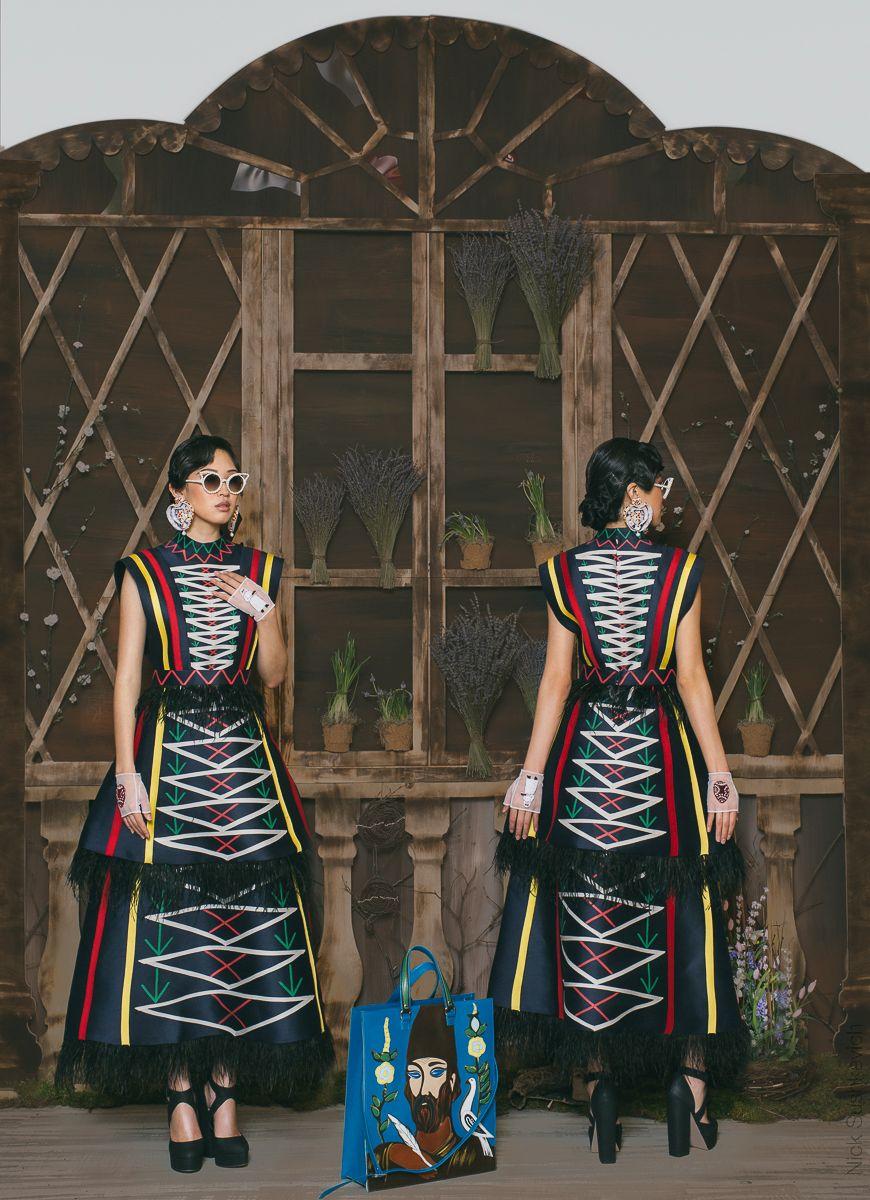 2 fashion photography black dress by nick sushkevich