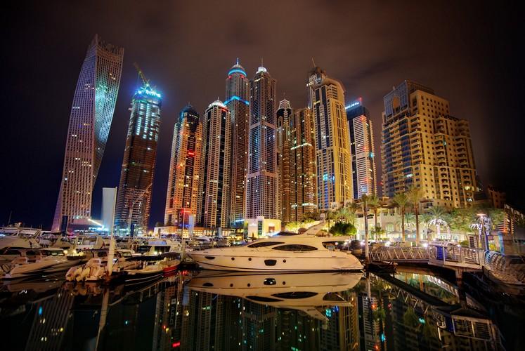yacht night photograph by trey ratcliff