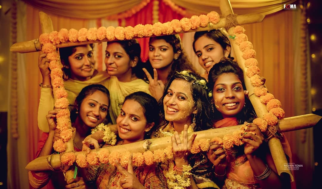 25 wedding photography haldi ceremony bride by nidhin foma