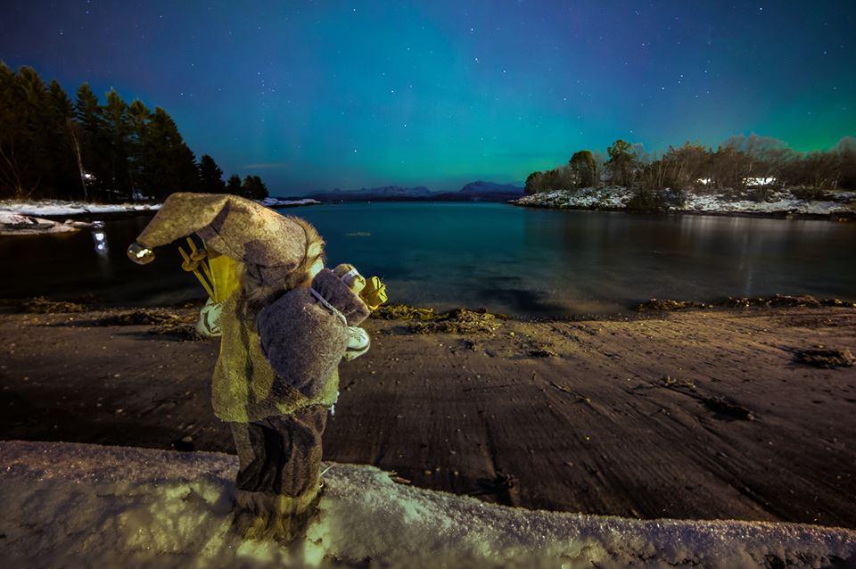 aurora santa nauture photography by terje nilssen