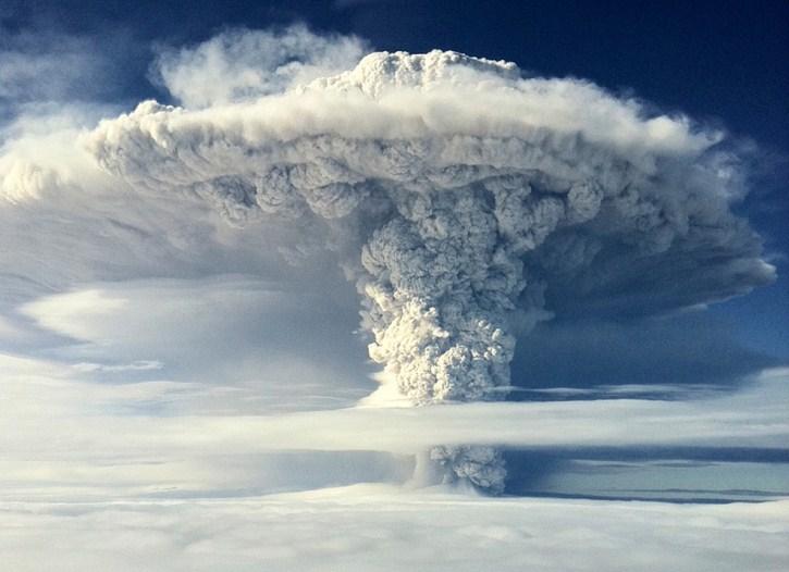 cordon del caulle volcano photography by francisco negroni