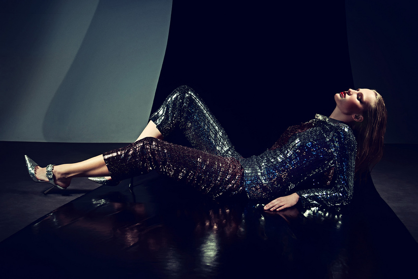 fashion photography glitter black by andreas stavrinides