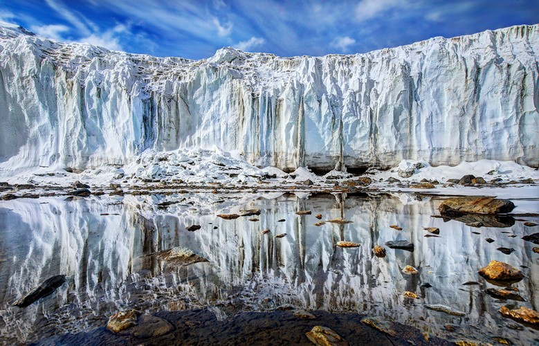 sunny valley mighty glacier photograph by trey ratcliff