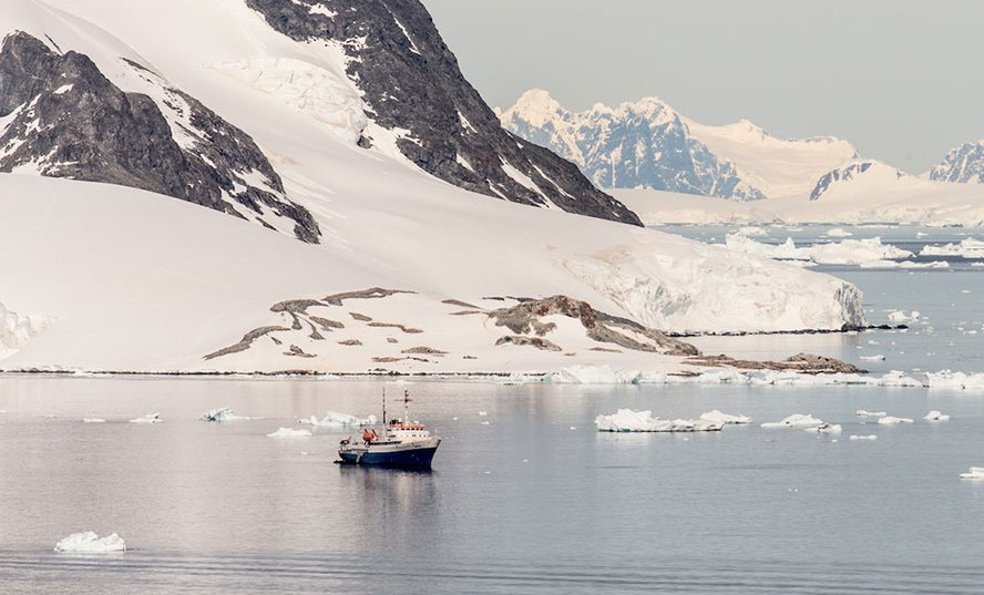 antarctica ship photography by alex cornell