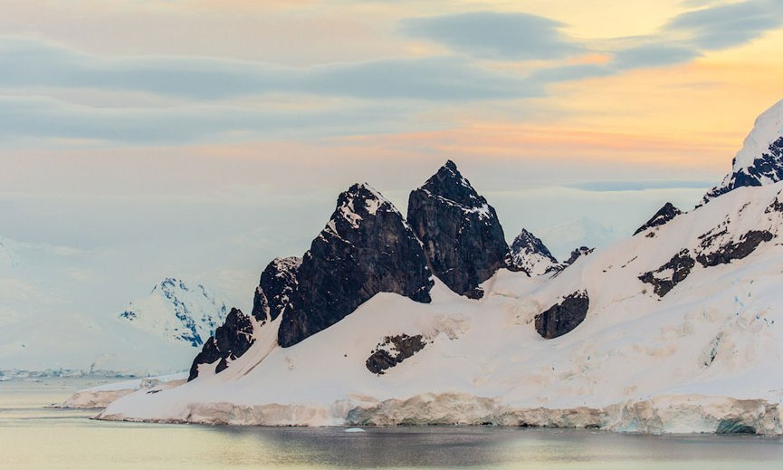 antarctica mountain photography by alex cornell