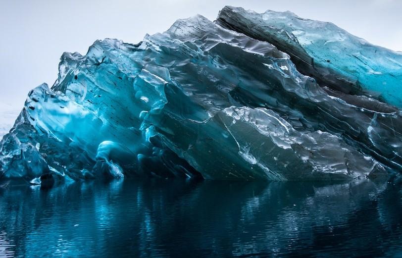 antarctica ice photography by alex cornell