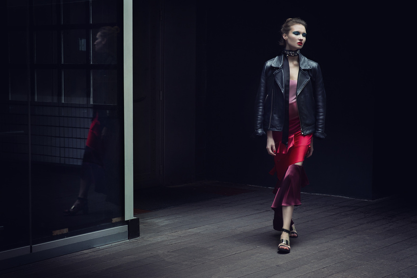fashion photography black jacket by andreas stavrinides