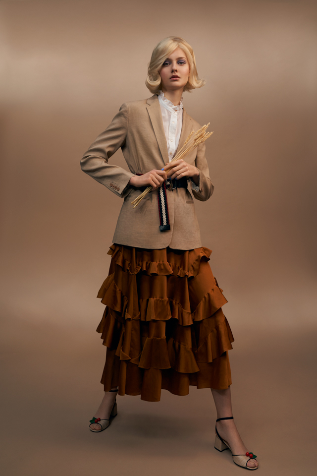 fashion photography harvest by pauline darley