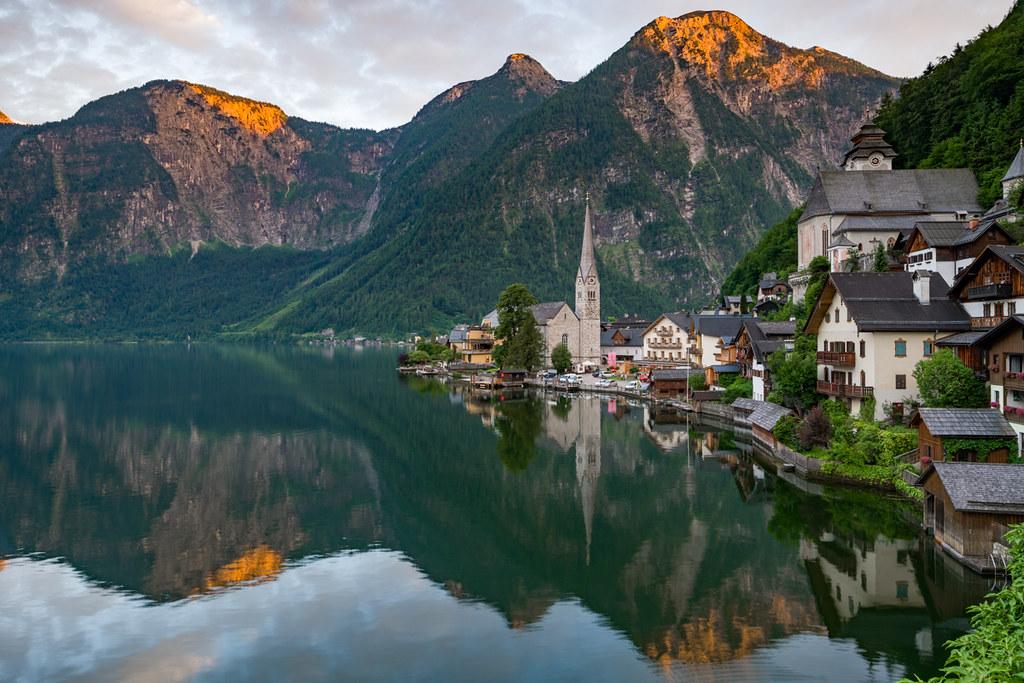 landscape photography austrian village by jonathan reid