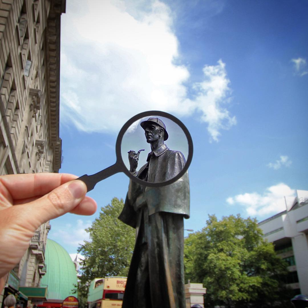 magnifying glass photography ideas by rich mccor