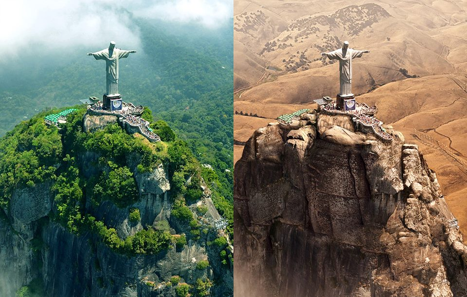 christ redeemer photo manipulation by joel krebs