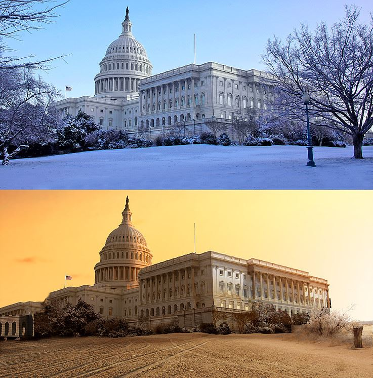 united states capitol photo manipulation by joel krebs