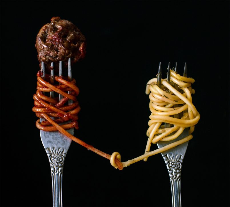 creative food photography ideas spaghetti by pavel sablya